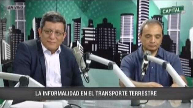 La Informalidad en el Transporte Terrestre - Radio Capital