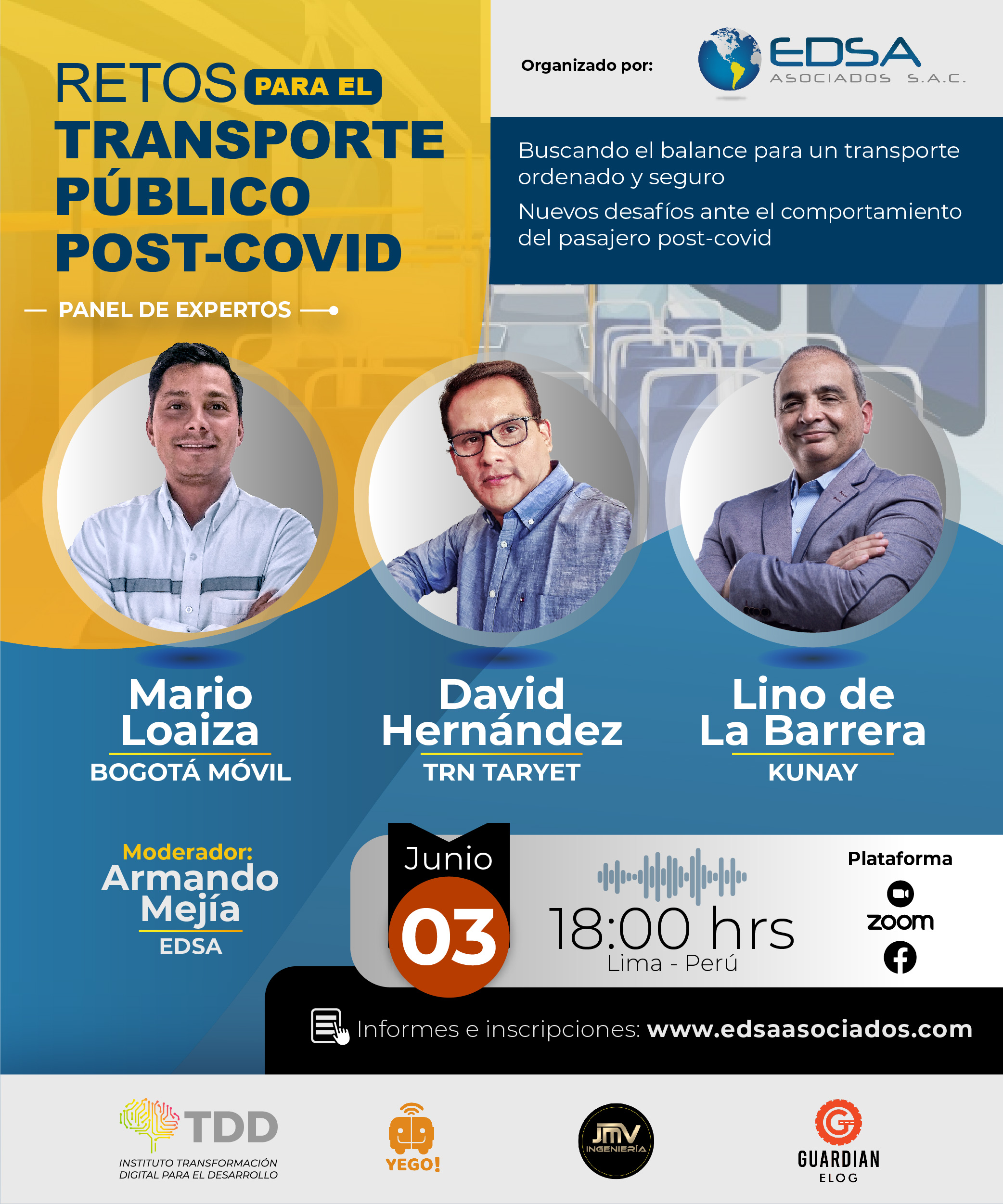 Conferencia Retos para el Transporte Público Post-Covid